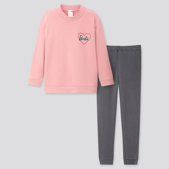 GIRLS Barbie Ultra Stretch Long Sleeve Set $14.90 was $29.90