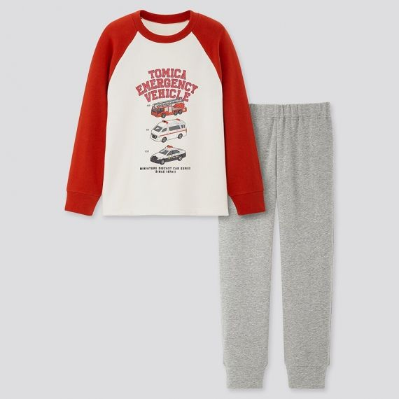 KIDS TOMICA Ultra Stretch Long Sleeve Set $19.90 was $29.90