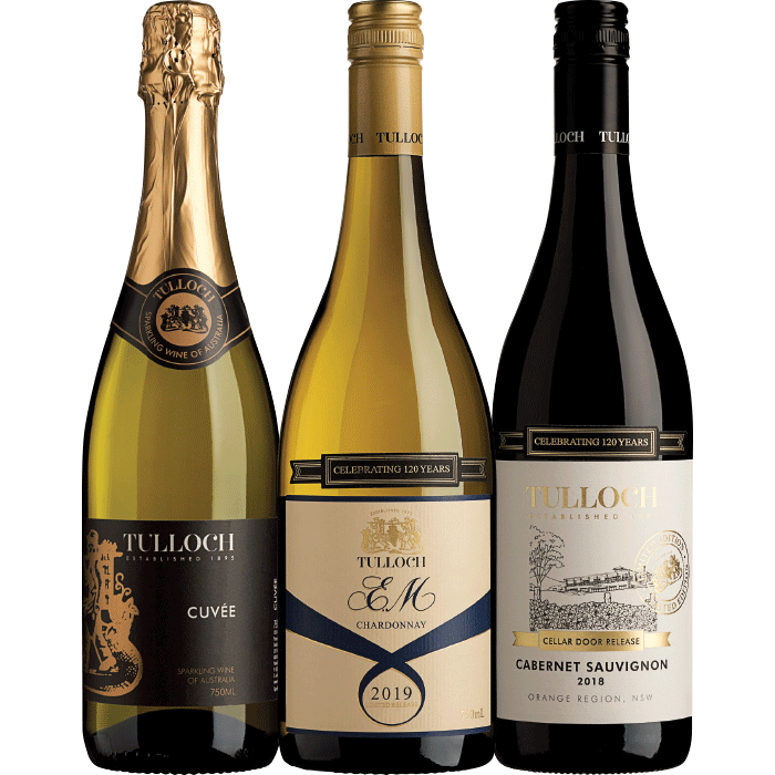 THE GREAT ENTERTAINERS TULLOCH TRIPLE GIFT PACK $75.00 RRP $105.00