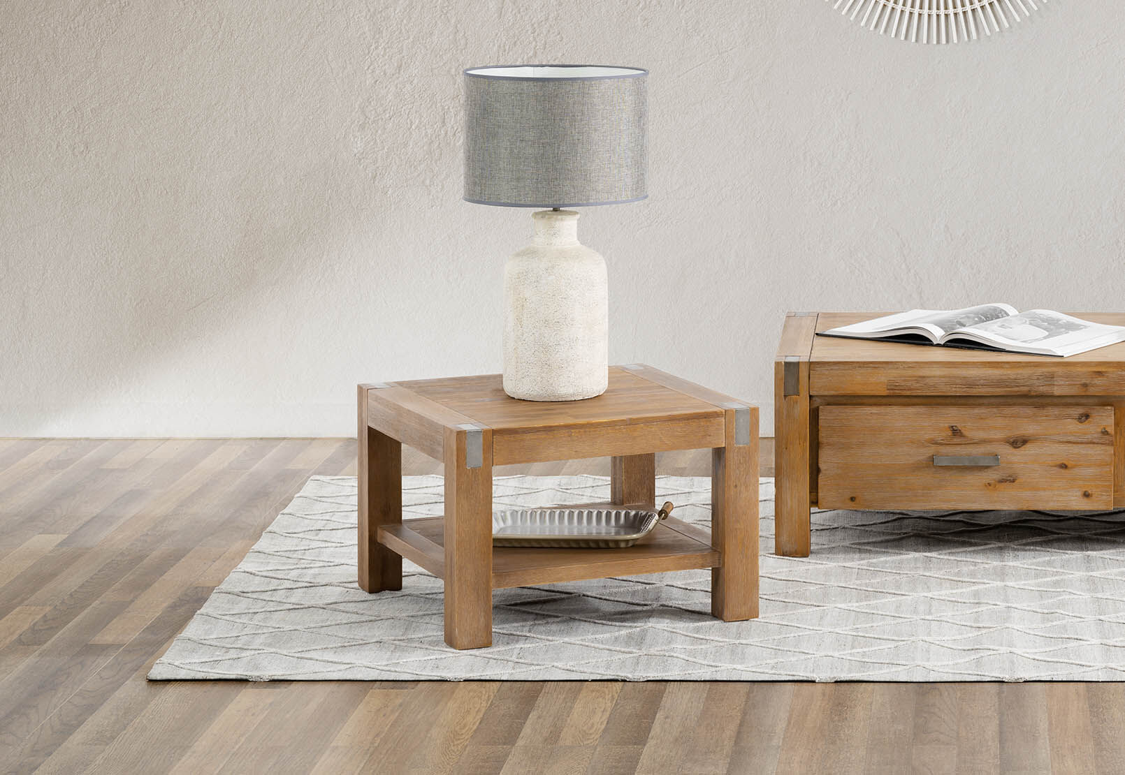 SILVERWOOD Lamp Table $349 was $449