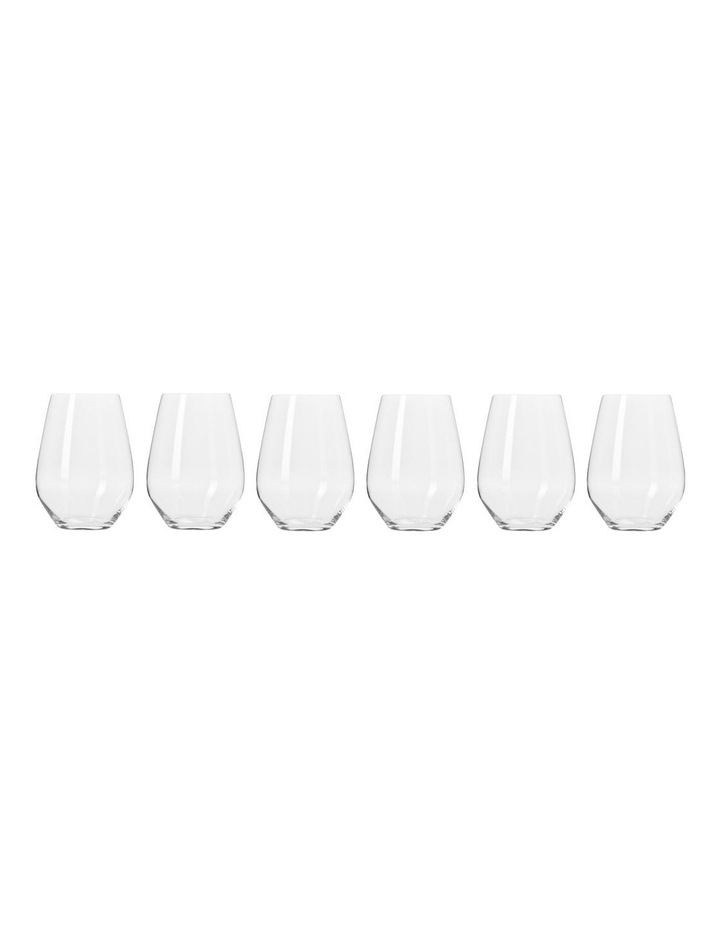 Krosno Harmony Stemless Wine 540ML 6pc Gift Boxed $24.97 was $49.95
