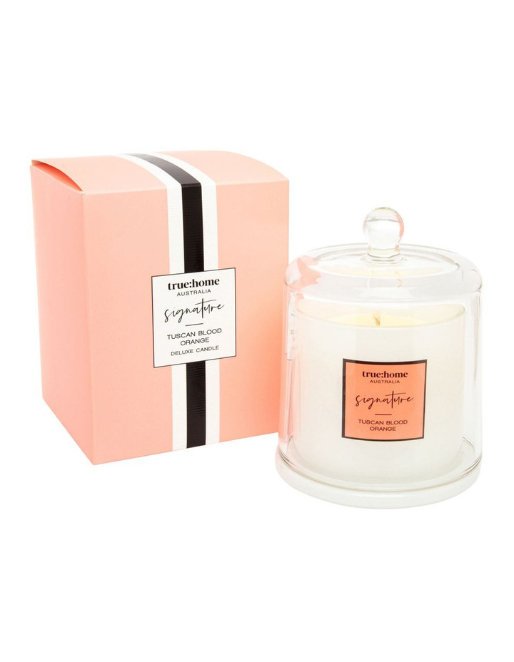 Signature Candle With Cloche Tuscan Blood Orange $22.46 was $29.95