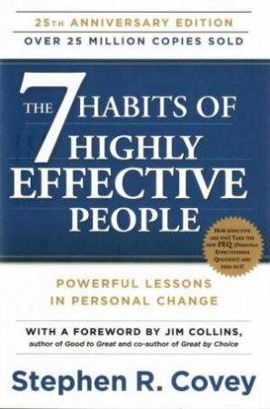 The 7 Habits Of Highly Effective People (Anniversary Edition) $13.99 RRP: $27.99 (50% off)