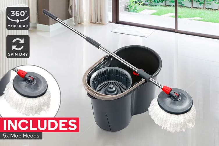 Magic 360° Spin Mop with 5 Mop Heads $34.99 was $69.99 (Save 50%)