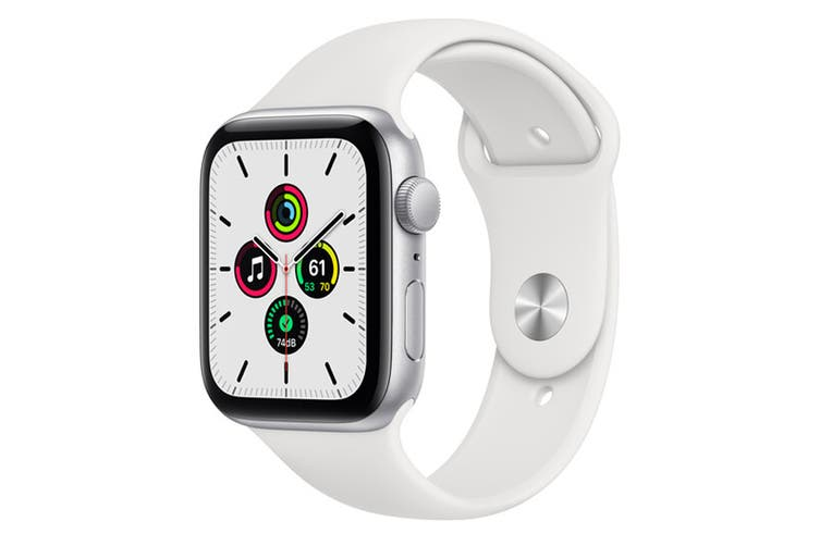 Apple Watch SE (Silver Aluminium, 40mm, White Sport Band, GPS Only) $369 (Don't Pay $429)