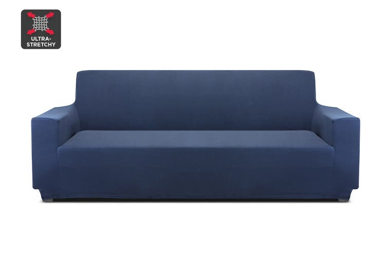 Ovela 3 Seater Sofa Cover Stretch (Navy) $19.99 was $34.99 (Save 42%)