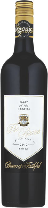 "Hart Of The Barossa ""the Brave"" Organic Shiraz (6-pack) 2012 x6 $198.00 + DELIVERY Save $42.00 PER CASE"