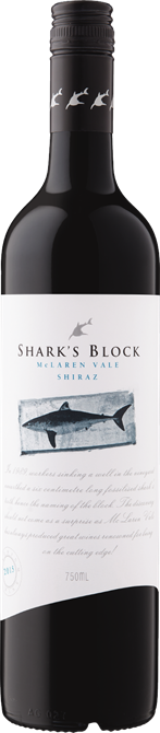 Shark's Block Mclaren Vale Shiraz (6-pack) 2015 x6 $228.00 + DELIVERY Save $12.00 PER CASE