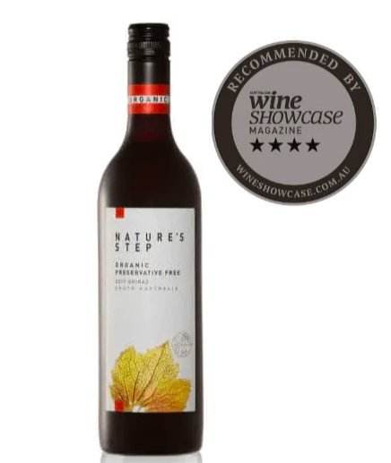 6-Pack 2017   Nature's Step Organic Preservative Free Shiraz   Wine of South Australia (6 Bottles) $79.99 was $90.00