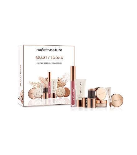 Nude by Nature Beauty Icons Limited Edition 7-Piece Makeup Set $29.95 (Don't pay $59.95)