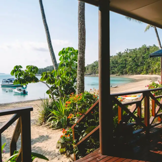 Palm Bay Resort Whitsundays Private Villa Escape with Whitehaven Beach Tour & Return Transfers 4, 6 or 8 Nights From $1,199 /villa Valued up to $1,922