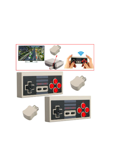 2 of 2.4G Wireless Controllers Gamepads Joypads for Nintendo Mini NES Classic / SNES Mini Console $25.95 (Don't pay $70)