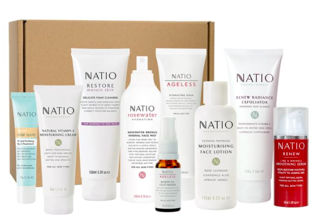 Natio Radiant Skin 9-Piece Gift Set $44.95 (Don't pay $115.70)
