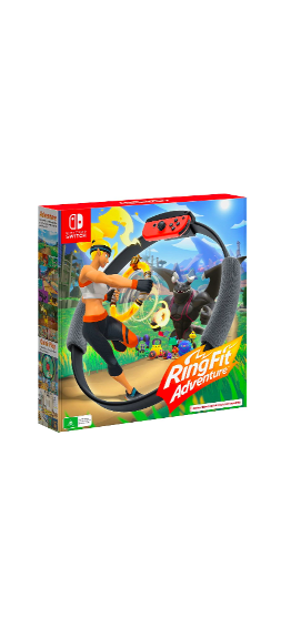 Nintendo Switch Ring Fit Adventure $99 was $119