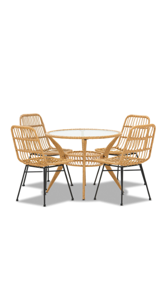 AMARILLO 5 Piece Outdoor Dining Setting $649 (Price reduced from $849)