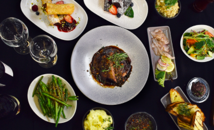 Nine-Dish Dinner Banquet with Bottle of Wine in the CBD $59 VALUED AT $155 SAVE 62% OFF