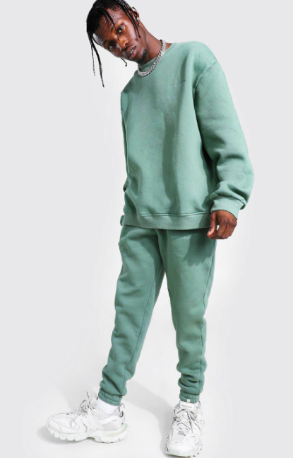 Overdyed Official MAN Sweater Tracksuit $45.00 was $90.00