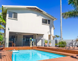 The Richmond Beach Villa Beachside Coffs Harbour Villa Escape for up to Ten Guests with Private Pool & Direct Beach Access 2, 3 or 5 Nights From $1,199 /villa Valued up to $2,615