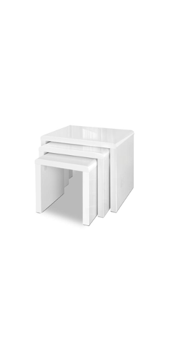 Artiss Set of 3 Nesting Tables $131.46 was $225.36
