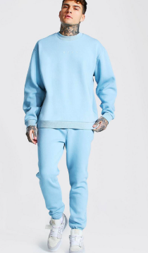 Oversized Overdyed Extended Neck Tracksuit $39.50 was $79.00