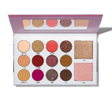 MORPHE X MANNY MUA GLAM PALETTE $21 was $30