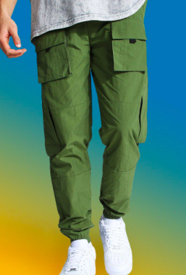Man Official Cargo Trousers $28.50 was $57.00