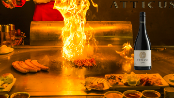 Two-Hour Teppanyaki Masterclass with Blind Premium Wine Tasting $99 VALUED AT $250 SAVE 60% OFF
