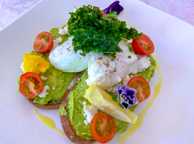 Breakfast with Tea or Coffee in Balmain $14 VALUED AT $26.90 SAVE 48% OFF