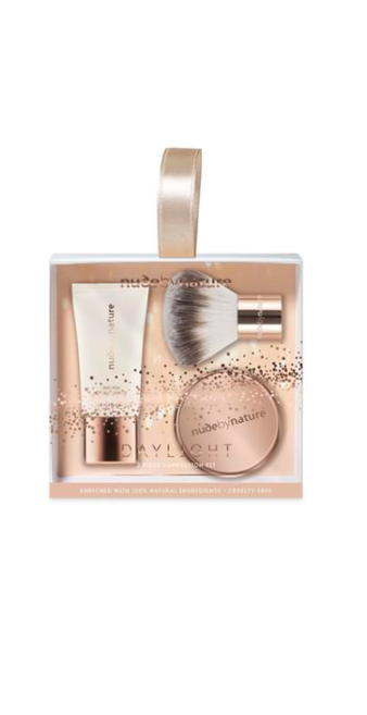 Nude by Nature 3-Piece Daylight Complexion Kit – Medium $10.95