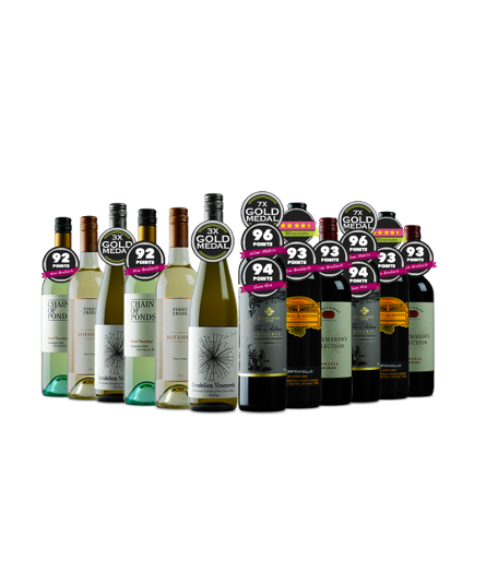 PLATINUM WINE CLUB MIXED $180.00 WAS $367.00 (51% OFF RRP)