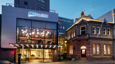 RACV Hobart Hotel Modern RACV Hobart Stay near Battery Point with Daily Breakfast 2 to 10 nights from $299 Incl. taxes & fees Valued up to $560