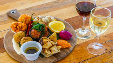 Grazing Platter and Wine at Russo Estate $25 VALUED AT $73 SAVE 66% OFF