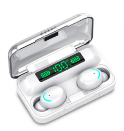 Metz TWS Bluetooth Earbuds with Powerbank WHITE $39.90 (Don't pay $79.9)