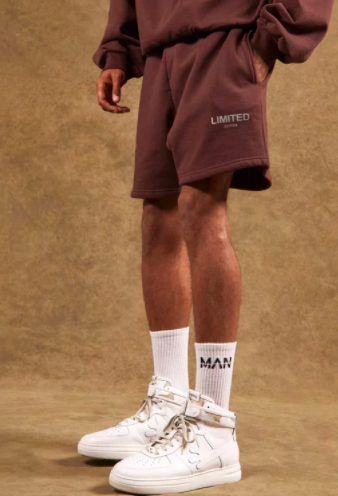 Regular Length Mid Limited Jersey Shorts $20 was $40 (50% OFF)