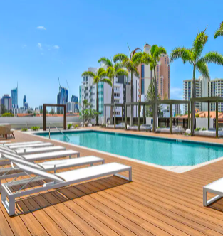 Qube Broadbeach Gold Coast Ultra-Modern Two-Bedroom Apartments in the Heart of Broadbeach 5 to 14 nights from $699/apt. Incl. taxes & fees Valued up to $1,625