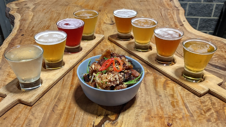 Swan Valley Brewery Tasting Paddles and Choice of Share Plate $39 VALUED AT $49 SAVE 20% OFF