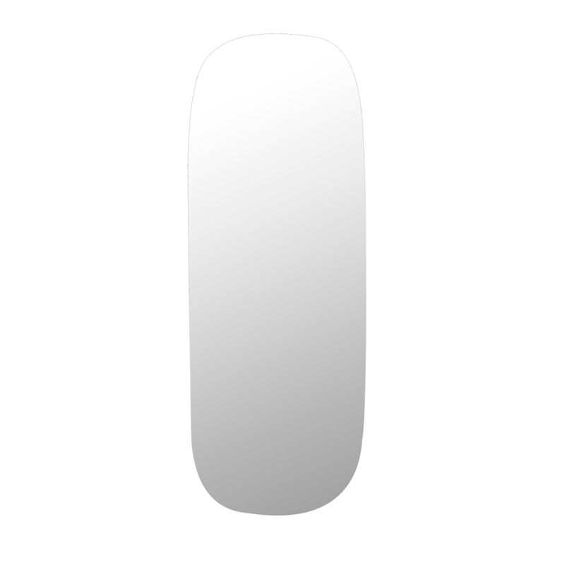 Cooper & Co. Large 135cm Frameless Oval Wall Mirror $189.95 RRP $219.95 (SAVE 14%)