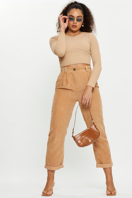 Corduroy Relaxed fit Pants $25.99 was $39.99