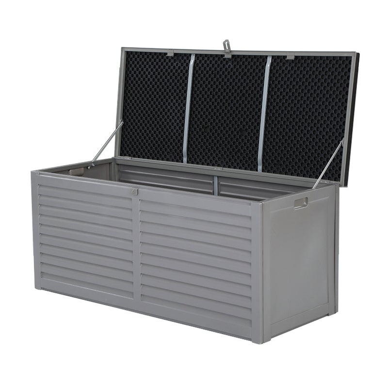 Gardeon Outdoor Storage Box 490L Bench Seat Indoor Garden Toy Tool Sheds Chest $169.95 RRP $360.95 (SAVE 52%)