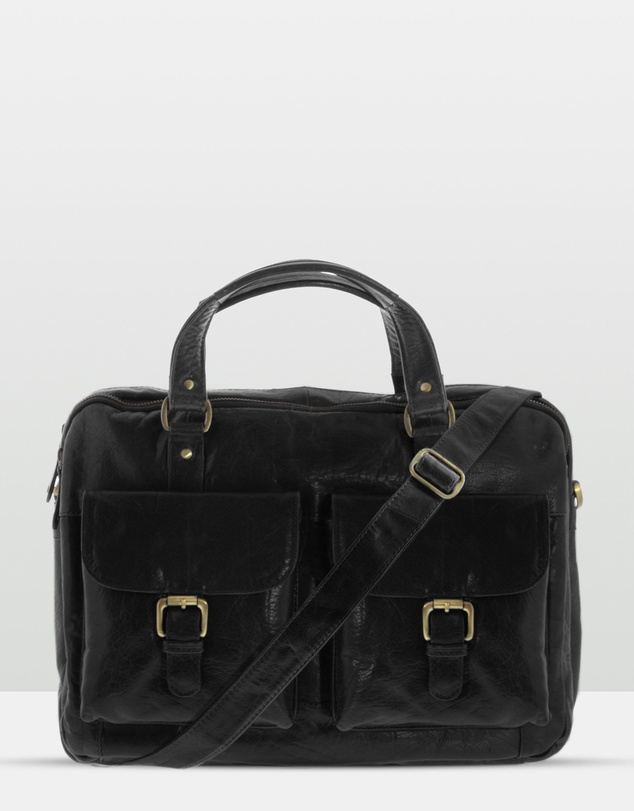 COBB & CO Soho Leather Laptop Briefcase $228.75 was $305.00 ( 25% OFF AT CHECKOUT)