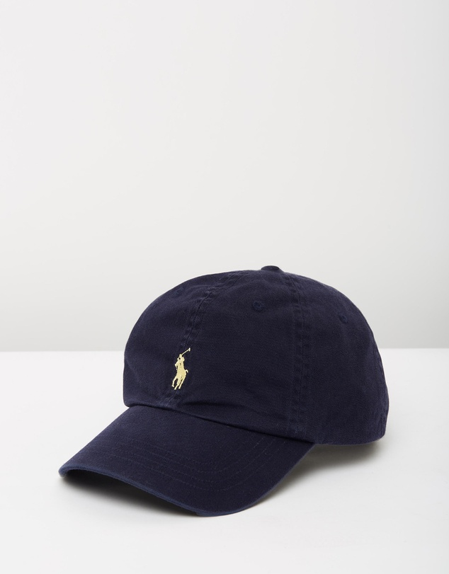 POLO RALPH LAUREN Cotton Chino Cap $69 (30% OFF AT CHECKOUT)
