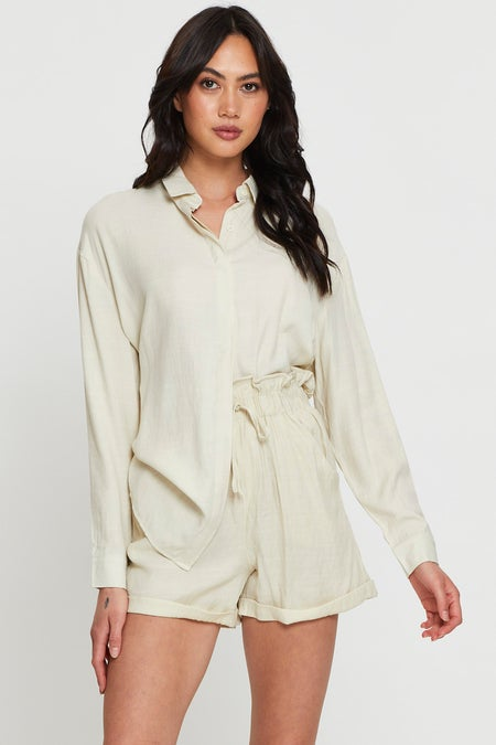 Long Sleeve Loose Fit Shirt $19.59 was $27.99