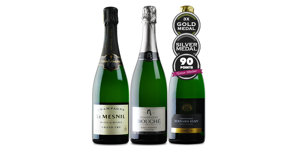 MÉNAGE À TROIS – EXCEPTIONAL CHAMPAGNE WITH FREE FREIGHT $199.00 WAS $243.00 (18% OFF RRP)