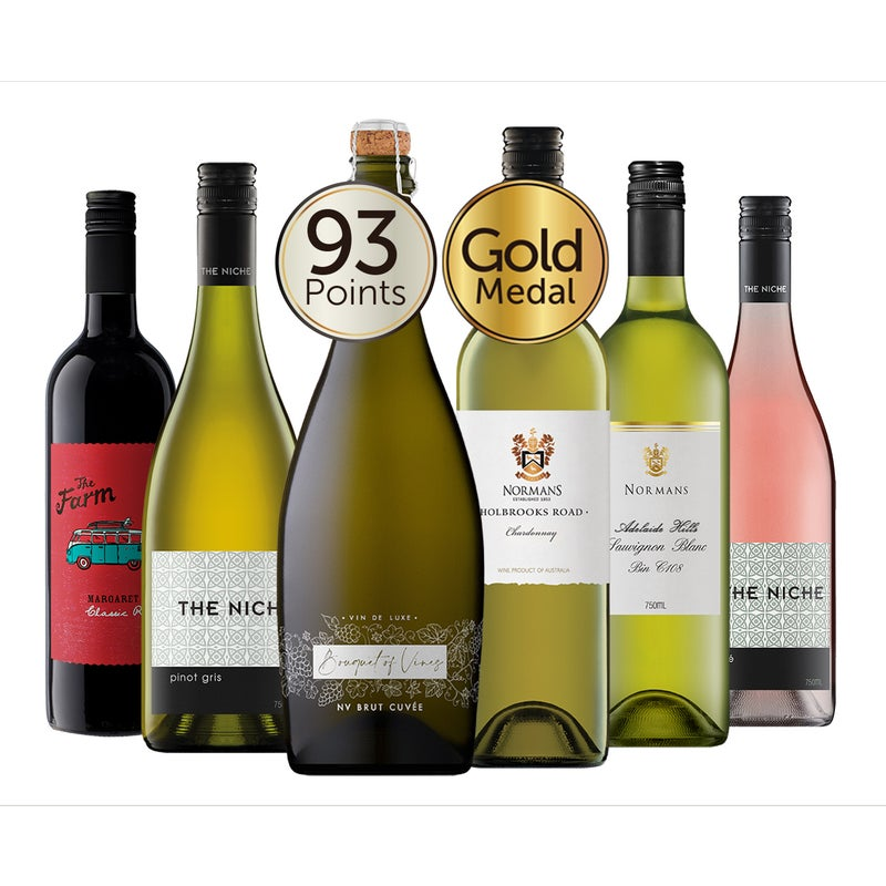 MyDeal Exclusive Mixed Red & White Wine Dozen $75 RRP $225.78 (SAVE 67%)