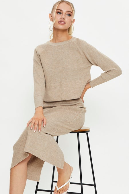 Ribbed Knit Skirt Set $49.98 was $76.89