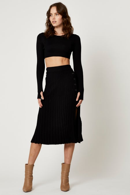 Ribbed Knit Skirt Set $52.79 was $65.99