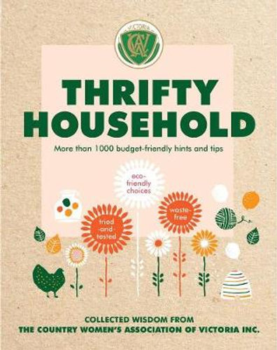 Thrifty Household by Country Women's Association Victoria $18.75 RRP $24.99  (25% off)