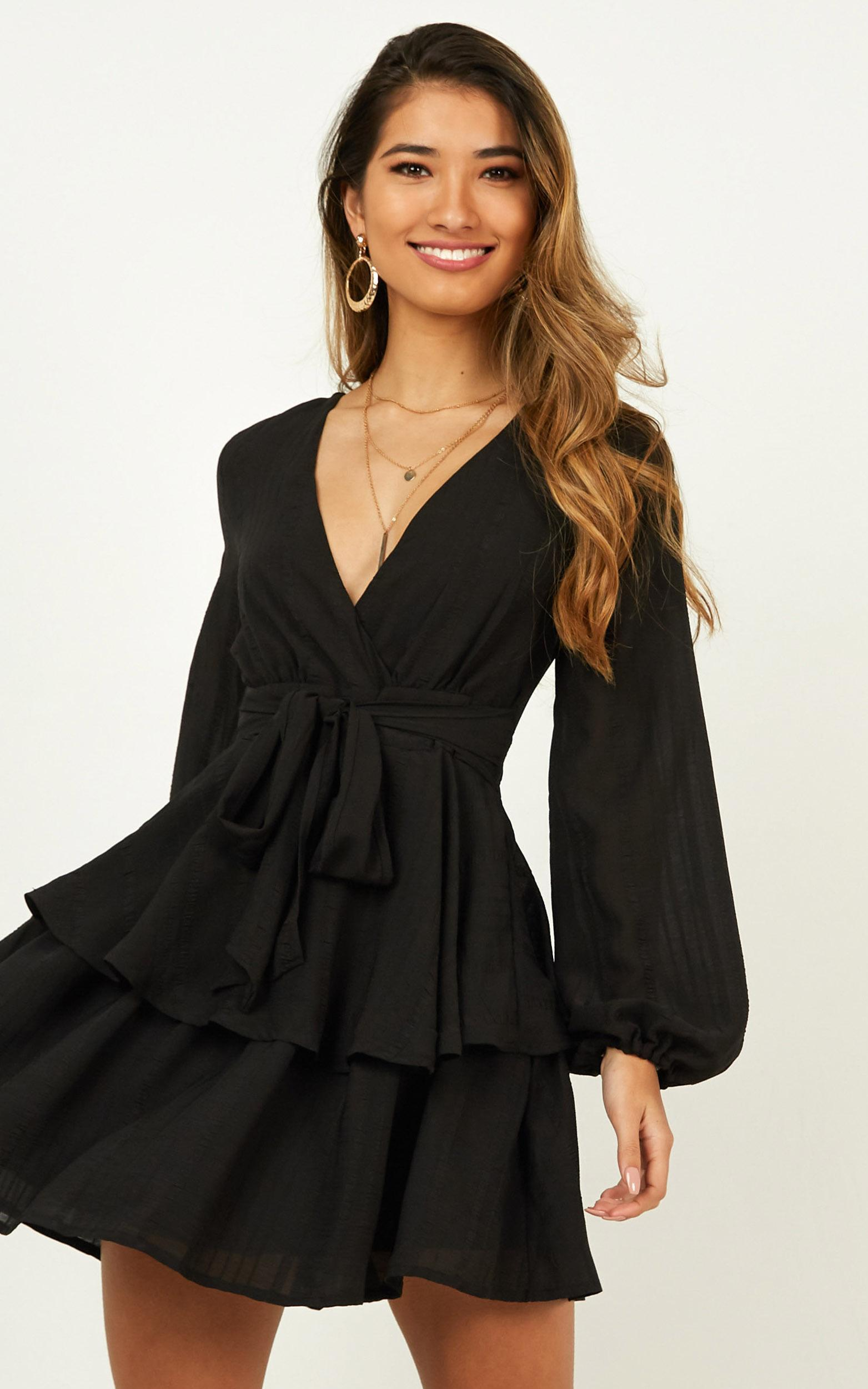 BREAKS LIKE A HEART DRESS IN BLACK $64.95 (25% off at checkout!)